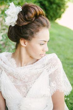 Noivas negras - penteados