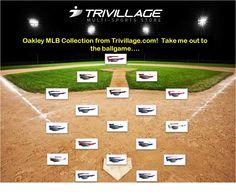 Oakley MLB Sunglass Collection @ Trivillage.com !