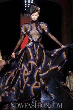 Jean Paul Gaultier Couture Fall Winter 2013 Paris - NOWFASHION