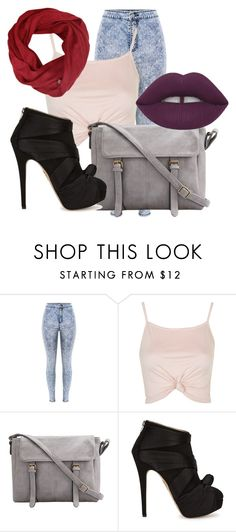"""Summer#2"" by christinapayne1 ❤ liked on Polyvore featuring Topshop and Charlotte Olympia"