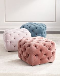 Busby+Tufted+Cube+Ottoman+at+Horchow.