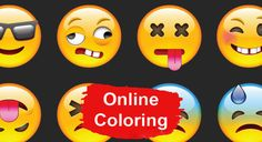 Emoji online coloring pages Emoji Pictures, Online Coloring Pages, Window, Emoji Images, Windows
