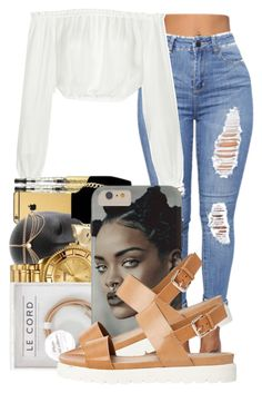 . by ray-royals on Polyvore featuring polyvore fashion style Elizabeth and James ALDO clothing
