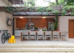 Áreas de churrasco decoradas + 10 tipos de churrasqueiras! - DecorSalteado
