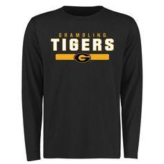 Grambling Tigers Team Strong Long Sleeve T-Shirt - Black