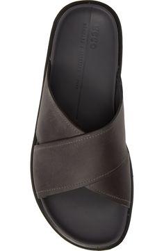 Men Sandals, Slide Sandals, Flip Flop Sandals, Leather Sandals, Leather Shoes Brand, Comfortable Mens Shoes, Men Slides, African Clothing For Men, Mens Flip Flops