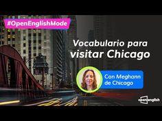 Open English - Clases Gratis de inglés- En vivo - YouTube Chicago, Youtube, English Class, Vocabulary, Words, Youtubers, Youtube Movies