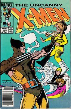 Uncanny X-Men 195 1963 1st Series July 1985  Marvel