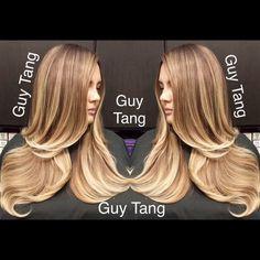 #balayage #ombre #guytang #haircolor