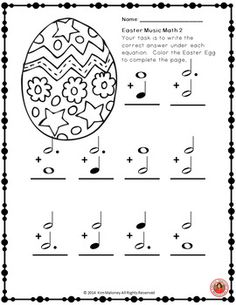 Music worksheets  |