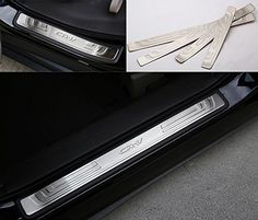 CarCoolParts Stainless Steel Door Sill Scuff Plate Pedals for Honda Crv 2012 2013 2014 2015