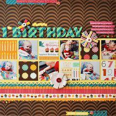 Spencer's 1st Birthday - Scrapbook.com