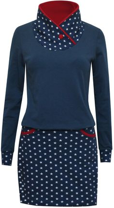 Sweater dress star girl - ungiko - dresses to fall in love with! Star girl sweatshirt dress Source by Seelenfrau Sweat Dress, Belted Shirt Dress, Sweatshirt Dress, Tee Dress, Dress Girl, Girls Knitted Dress, Knit Baby Dress, Knitted Baby, Smocked Baby Dresses