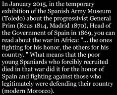 Spanish war of Africa
