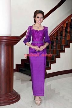 Khmer dress. Cute!!!