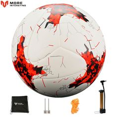 Cut Rate Russia Size 4 Size 5 Football Premier Seamless Soccer Ball Goal Team Match Training Balls League futbol bola with Pump Gift Messi Y Ronaldinho, Messi Gif, Soccer Pro, Soccer Fans, Soccer Books, Soccer Scores, Live Soccer, Soccer Stuff, Soccer Cleats