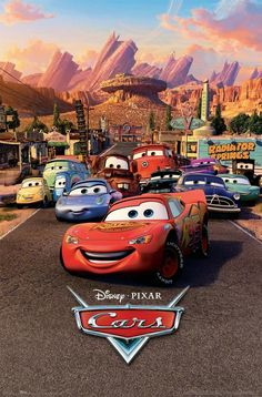 Cars 3 Lightning McQueen Stats Official Poster New Maxi Size 36 x 24 Inch