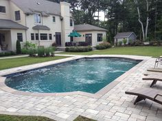 Barrier Reef 12x24 Fiberglass Pool Installed By River