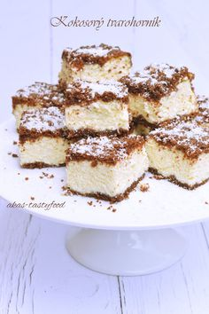 .. chute a vône mojej kuchyne...: Kokosový tvarohovník My Recipes, Tiramisu, Ham, Food And Drink, Baking, Breakfast, Ethnic Recipes, Desserts, Cakes