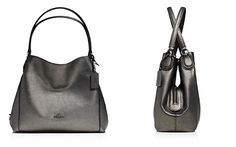 COACH Metallic Edie 31 Shoulder Bag