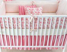 good mix of patterns, Berry Anouk Crib Bedding - 3 Piece Set