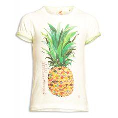 T-Shirt Ananas - Primavera Estate 2015 - Taglia 4-12 anni