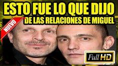 Ex pareja de Miguel Bosé revela detalles de sus amoríos
