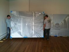 Handling with care! Edgar Martins prints are arriving at the gallery for @_Diffusion #diffusion2013   Tweeted by @ffotogallery