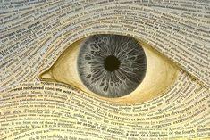 Handgemaakte boeken met hypnotische ogen