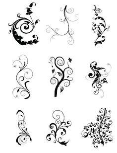Free SVG Cut Files Even more swirls