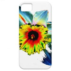 Colorful Neon Daffodil iPhone 5 Cases