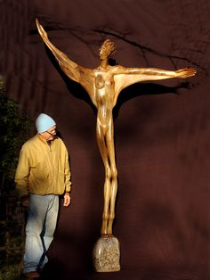 Wooden Sculptures, Painting, Art, Painting Art, Paintings, Kunst, Paint, Draw, Art Education