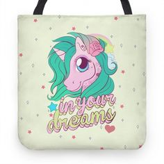 In Your Dreams | Tote Bags, Grocery Bags and Canvas Bags | HUMAN