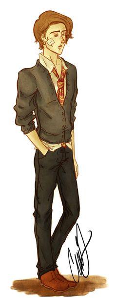 Remus Lupin by AniPokie.deviantart.com on @deviantART