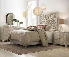 Home Decorators Collection Chennai White Wash King Platform Bed 9467810410 at The Home Depot - Mobile Home Bedroom, Bedroom Furniture, Bedroom Decor, Bedrooms, Whitewash Furniture, Furniture Ads, Furniture Outlet, Discount Furniture, Girls Bedroom