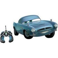 """RC Cars auto """"Finn McMissile""""  Highlights & details      Licht- en geluidseffecten     Raket schietfunctie     290 mm lang  Beschrijving  Finn McMissile is als agent in dienst bij de Britse geheime dienst. Hij is de slimmere vriend van Takel en Bliksem McQueen. Nu is de beroemde geheime agent als 29 cm grote bestuurbare auto verkrijgbaar met coole functies zoals licht- en geluidseffecten."""