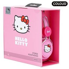 ZD Headphone Coloud Hello Kitty Pink Label [Japan Import] » Pink Hello Kitty » Shop Hello Kitty — All your Hello Kitty Products Here!