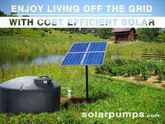 At Advanced Power, we offer solar equipment that can be used in any and all applications. Use our solar water pumps for irrigation or start your custom solar… Industrial Pumps, Solar Equipment, Storing Water, Solar Water Pump, Water Storage Tanks, Submersible Pump, Homestead Living, Water Sources, Water Well