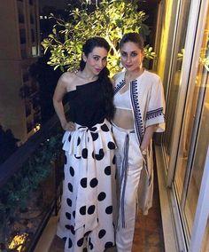 Two beautiful bollywood sisters kareena and karishma kapoor