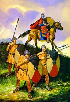Late Roman spearmen