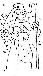 Parable of the lost sheep Family Home Evening, Family Night, Jesus Stories, Bible Stories, Latter Days, Latter Day Saints, The Lost Sheep, Preschool Coloring Pages, Church Crafts