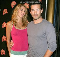 Eddie Cibrian and Brandi Glanville: Before Cibrian filed for divorce from Real Housewife Brandi, he was rumored to be having an affair with country singer Leann Rimes. Cibrian filed for divorce and custody of the couples sons in 2009 citing irreconcilable differences. After he officially filed, Cibrian went public with his Rimes, when they were spotted leaving for a romantic trip to Cabo San Lucas.   www.celebrio.in #celebrio