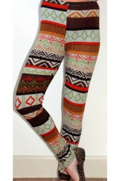 Chevron Print Legging $29  www.herringstonesboutique.com