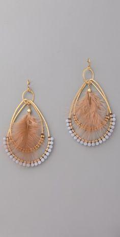 Chan Luu double hoop earrings.