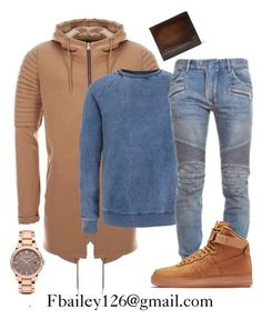 """""""Untitled #420"""" by fbailey126 ❤ liked on Polyvore featuring Topman, Balmain, NIKE, Burberry, Berluti, women's clothing, women's fashion, women, female and woman"""