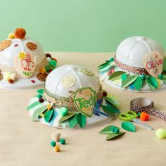 Jungle party Safari hat kids craft!