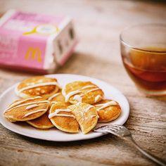 暑い日が続くね。おうちでのんびり過ごすのも、たまにはいいよね! #プチパンケーキ #bymcsweets #マクドナルド #mcdonalds
