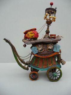 Paskal Tirmant amazing fairy caravan   fairiehollow.com