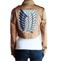 Attack on Titan Shingeki No Kyojin Scout Legion Cosplay Jacket