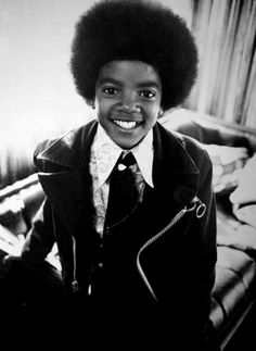 Michael Jackson as a young kid.